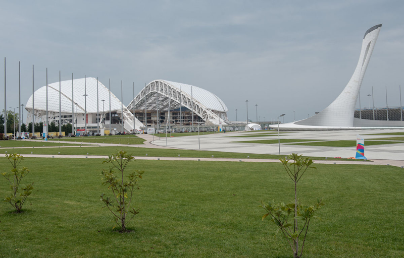 """Стадион """"Фишт"""" в Сочи: почему этот объект уникален?"""