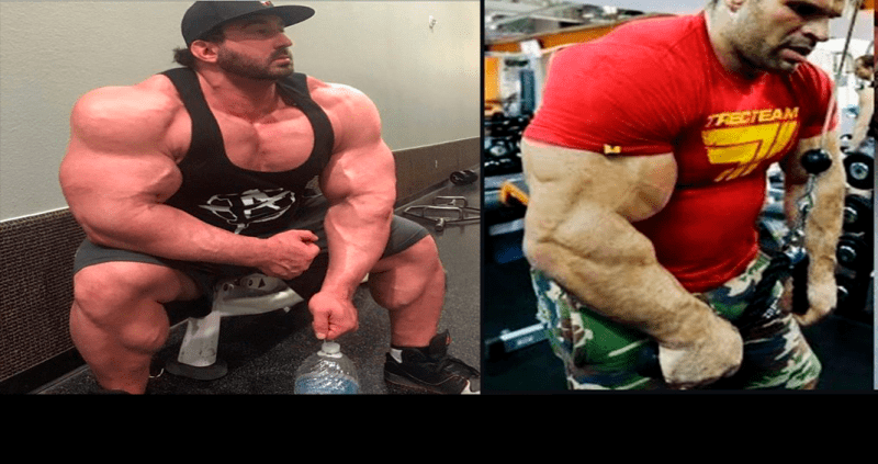 Люди с аномальными мышцами в существование которых сложно поверить.