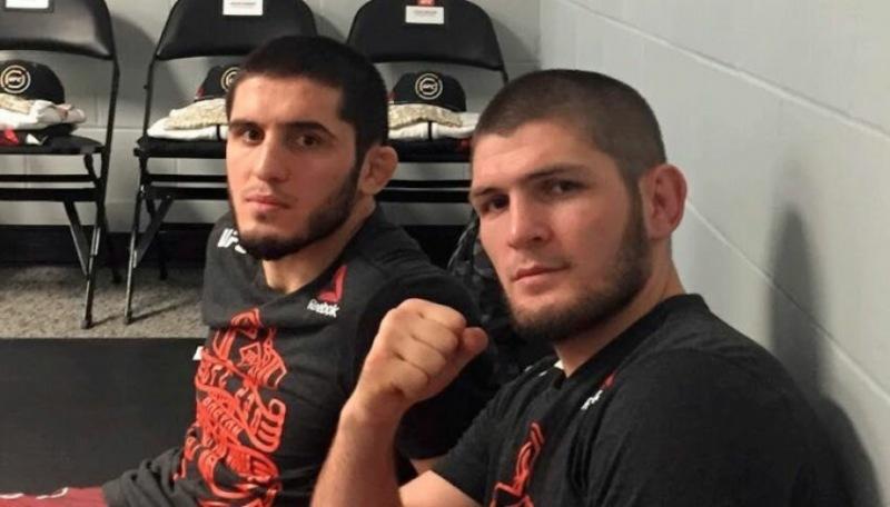 Нурмагомедов обратился к Махачеву перед боем в UFC
