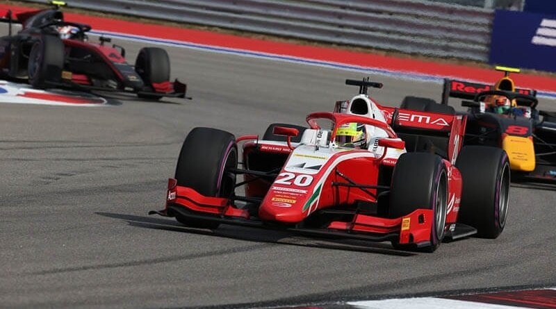 Шумахер: «Битва за титул в Формуле-2 все еще широко открыта»