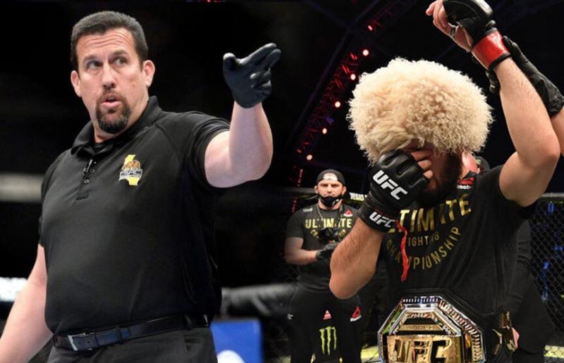 Экс-рефери Джон Маккарти назвал бойца, который станет чемпионом UFC вместо Хабиба