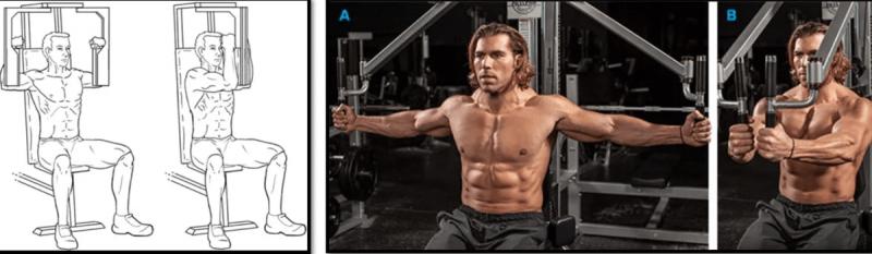 Лучшие упражнения для нижней области грудных мышц