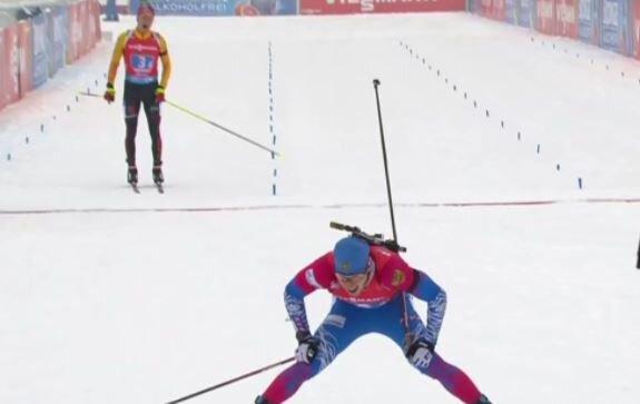 Латыпов рассказал, как слышал подсказки немцу, из чего понял, как обгонять его на финише