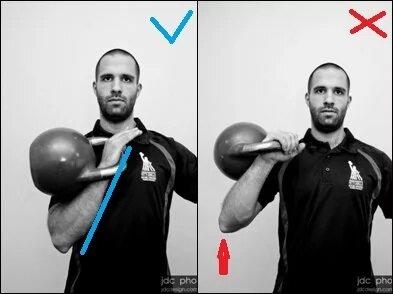 Уверены, что тренируетесь с гирей правильно? 3 главных правила для новичков при работе с этим снарядом