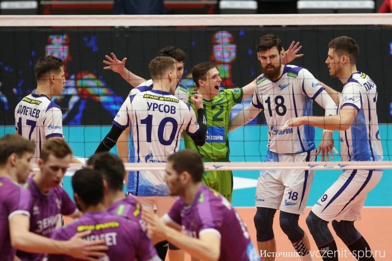 Волейбол. Кто получит вторую прямую путевку в Финал шести: Зенит-СПб или Кузбасс?
