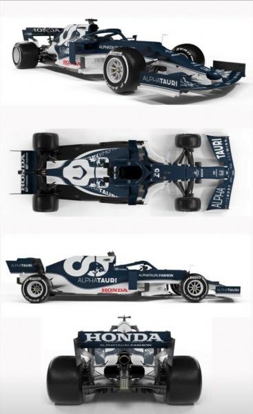 Бывшая команда Квята представила новую тёмую версию болида на сезон 2021: стильная АТ02