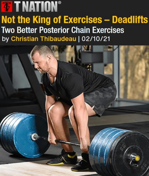 Не короли упражнений: становая тяга