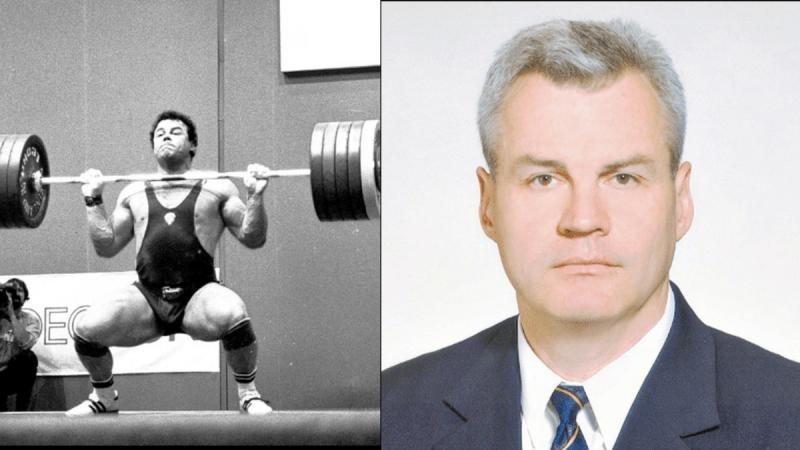 Александр Курлович, 2-кратный Олимпийский чемпион, 472,5 кг в сумме двоеборья