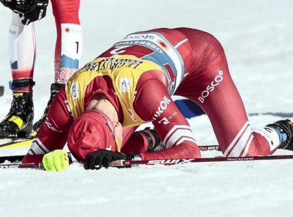 Большунов - о том, почему не встретил Ретивых после гонки, Легков – о том, почему на награждении Глеб плакал