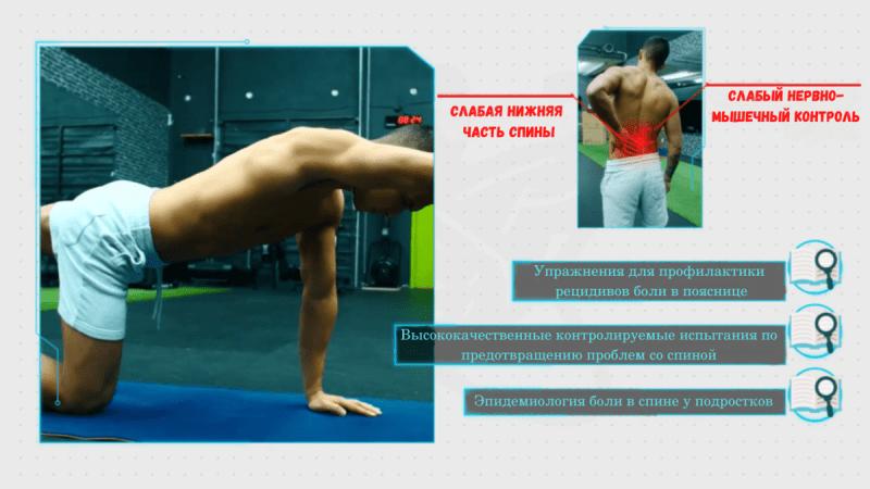 Эффективные упражнения для поясницы. Подробный анализ и научные статьи.