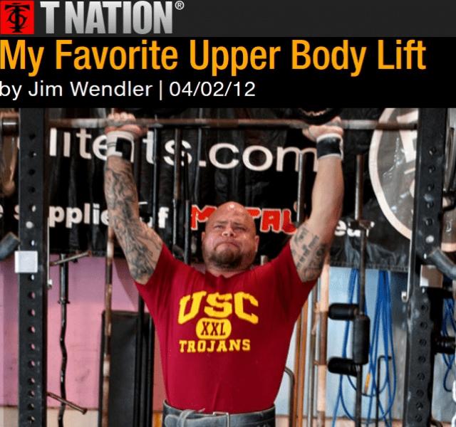 Главное упражнение для верха (Джим Вендлер)