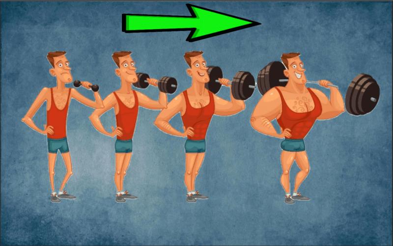 Прогрессия нагрузок. Она критична для роста мышц. Как прогрессировать в домашних условиях?
