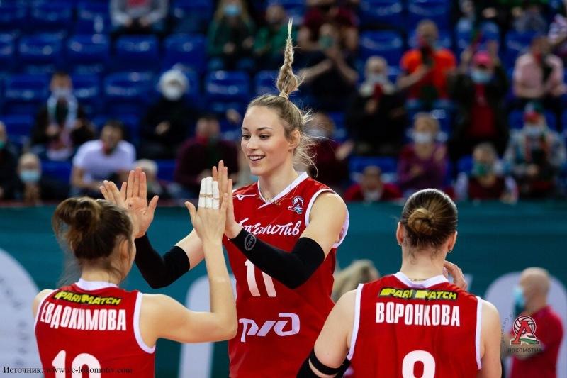 Волейбол. Локомотив и Уралочка одержали победы в плей-офф