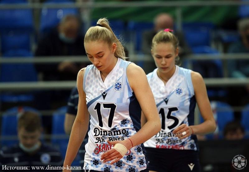 Волейбол. Сложный кадровый выбор Динамо-Ак Барс
