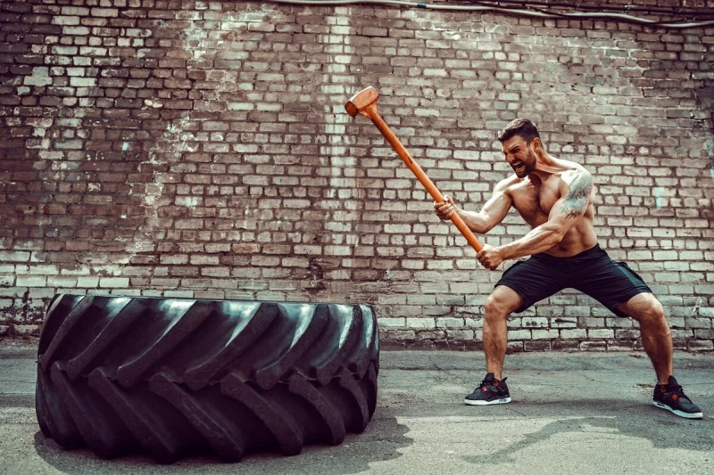 1 упражнение которое Прокачает ВСЕ мышцы верха и уберет живот.