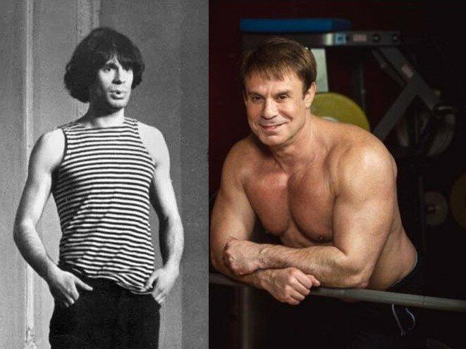 Как накачался Ефим Шифрин: тренировки, жим 140 кг, актуальная форма, фото до и после