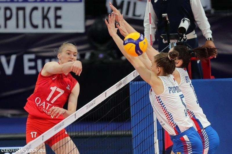 Волейбол. ЧЕ 2021. Пять партий с Сербией и заявка Татьяны Кадочкиной