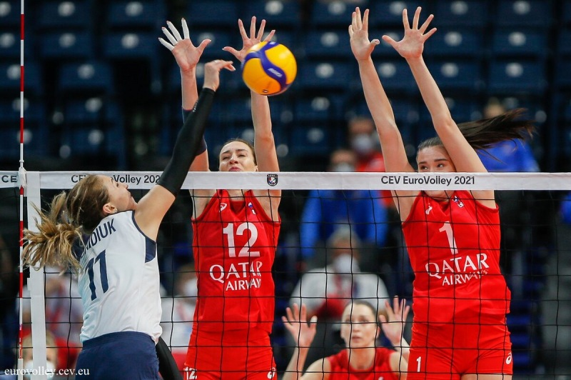 Волейбол. ЕВРО-2021. Победа над Азербайджаном и проверка Бельгии