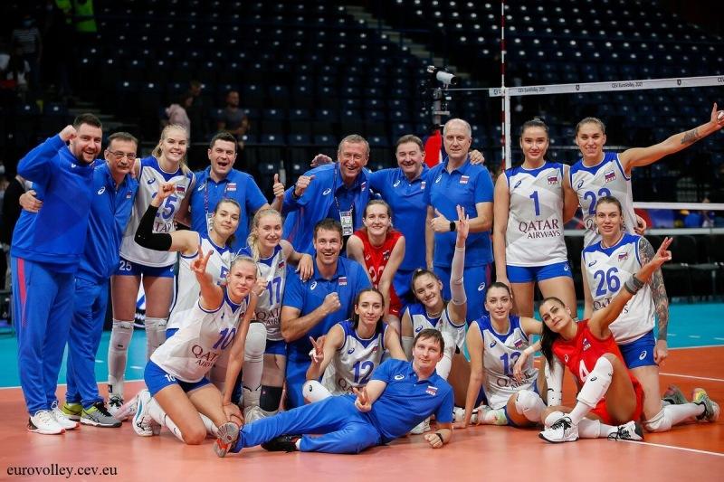 Волейбол. ЧЕ 2021. Победа над Белоруссией и четвертьфинал с Италией