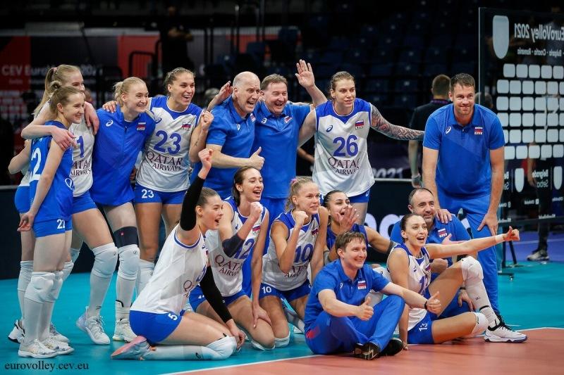 Волейбол. Чемпионат Европы 2021. Хороший старт с победы над Францией