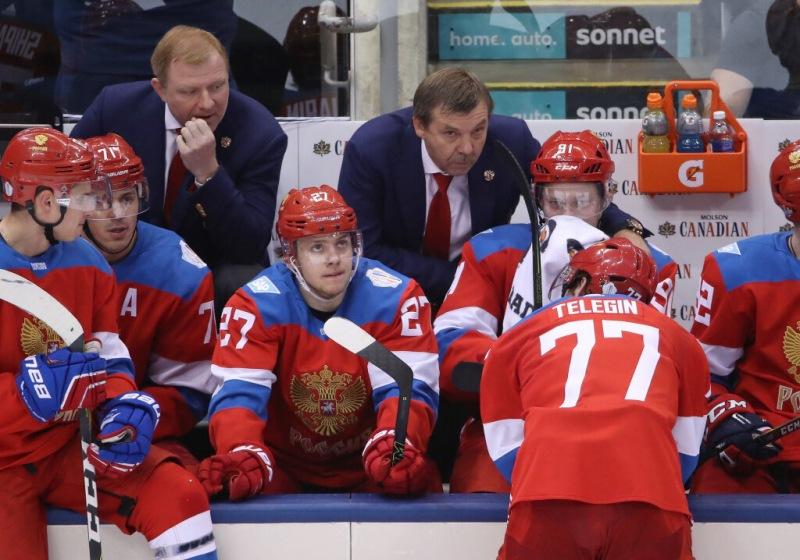 """У хоккейной Сборной снова новый тренер. Предыдущий """"продержался"""" три дня."""