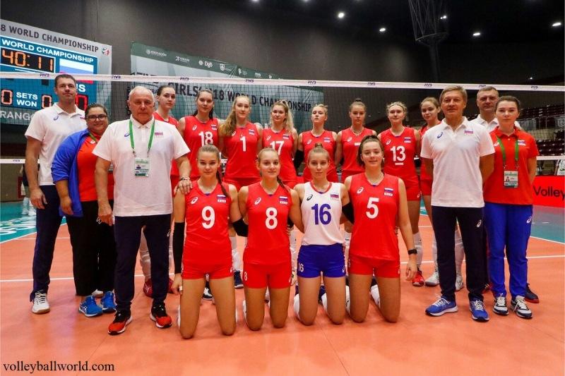 Волейбол. ЧМ U18 среди девушек в Мексике