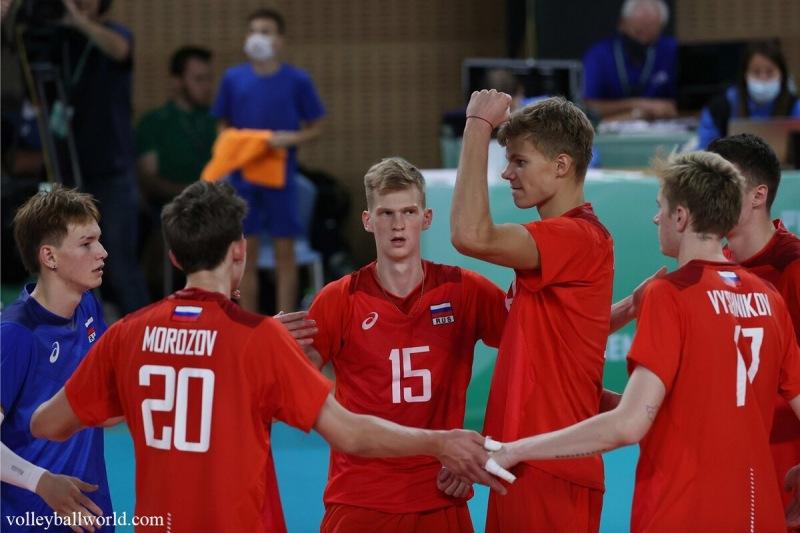 Волейбол. ЧМ U21. Победа над Канадой