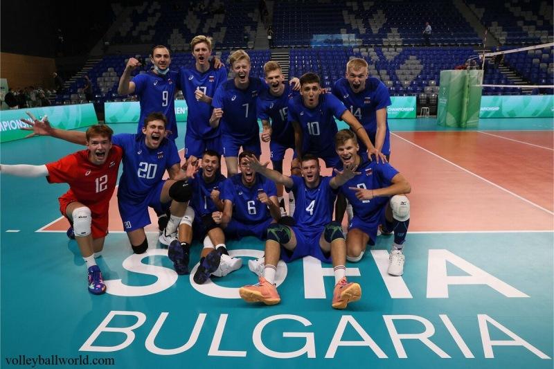 Волейбол. Стартовал ЧМ U21 в Болгарии и Италии. Сборная России обыграла на тай-брейке Бразилию
